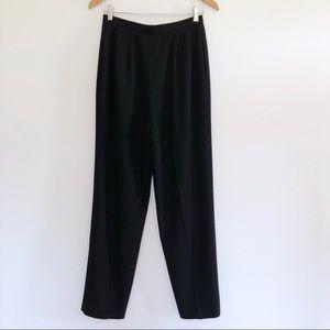 Dana Buchman Pants - Dana Buchman Wool Dress Pants Pleated Lined Black
